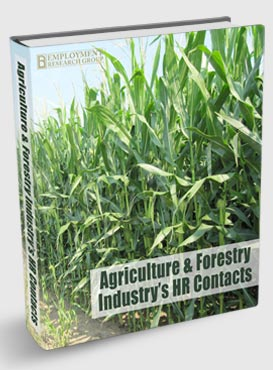 Agriculture And Forestry Industry's HR contacts