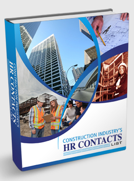 Construction Industry's HR contacts List