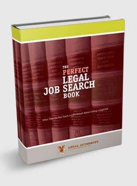 Perfect Legal Job Search Book