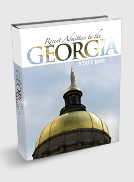 Recent Admittees to the Georgia State Bar