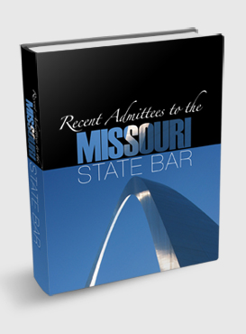 Recent Admittees to the Missouri State Bar