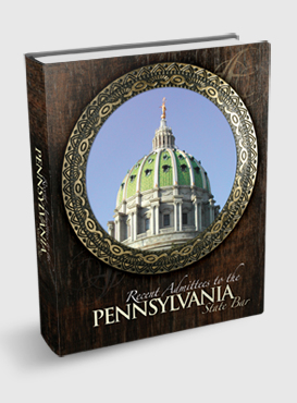 Recent Admittees to the Pennsylvania State Bar