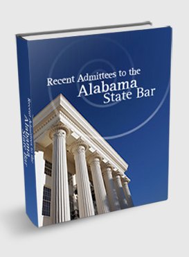 Recent Admittees to the Alabama State Bar